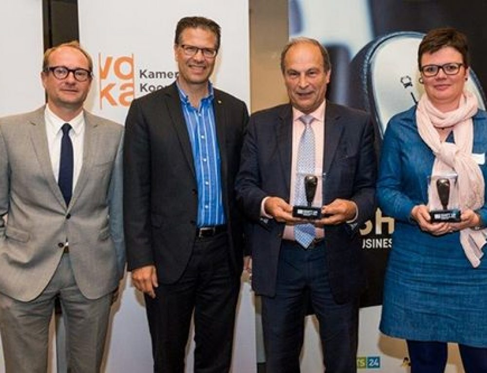 Atlas Copco wint Business Mobility Award